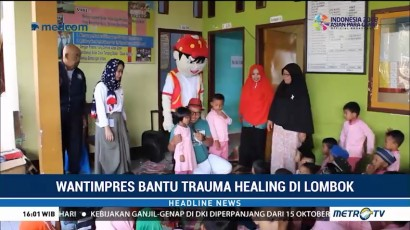 Wantimpres Beri <i>Trauma Healing</i> untuk Anak Korban Gempa Lombok
