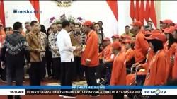Jokowi Bagikan Bonus ke Atlet Asian Para Games 2018