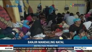 Korban Banjir Bandang di Mandailing Natal Butuh Tenda
