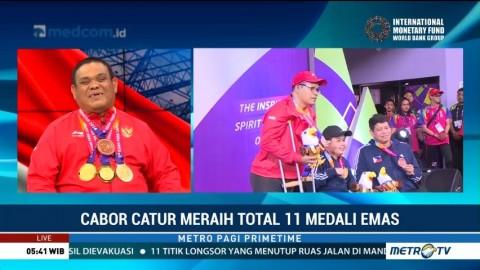 Prestasi Gemilang Catur di Asian Para Games 2018