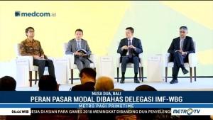 Optimalisasi Pasar Modal Dibahas di Pertemuan IMF-WB 2018
