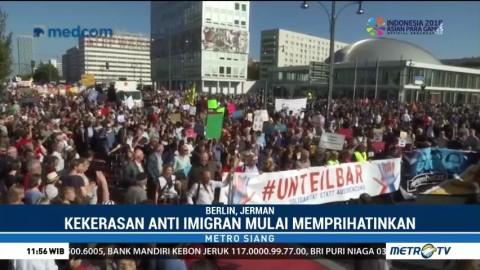Warga Berlin Turun ke Jalan Protes Rasialisme dan Diskriminasi