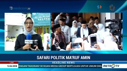 Ini Agenda Ma'ruf Amin di Yogyakarta