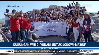 WNI di Yunani Deklarasi Dukung Jokowi-Ma'ruf