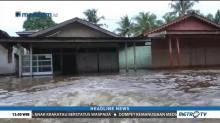Banjir Rendam Ratusan Rumah dan Jalan Lintas Provinsi di Aceh Singkil