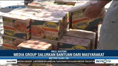 Media Group Telah Salurkan Bantuan 139 Ton Beras ke Palu