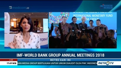 IMF-World Bank Dorong Kerja Sama Internasional Hadapi Tantangan Global