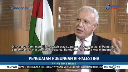 Penguatan Hubungan RI-Palestina