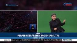Penerjemah Bahasa Isyarat Ini jadi Sorotan di Penutupan Asian Para Games
