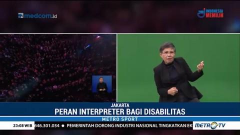 Penerjemah Bahasa Isyarat Ini jadi Sorotan di Penutupan Asian