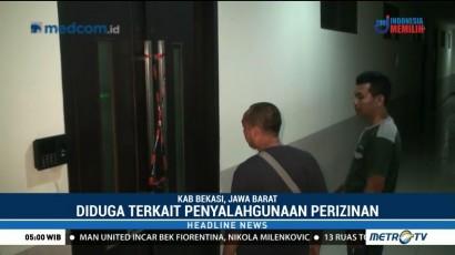 KPK Segel Ruangan di Dinas PUPR Bekasi