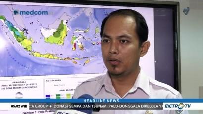 BMKG Prediksi Musim Hujan di Jakarta Awal November