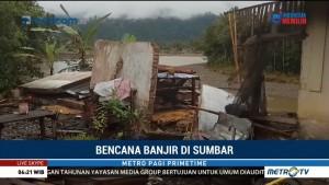 Banjir di Pasaman Mulai Surut