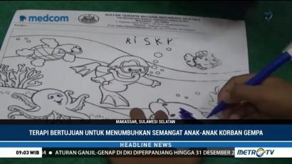 Menggambar Jadi <i>Trauma Healing</i> Bagi Anak Korban Gempa Sulteng