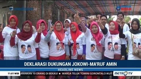 Ratusan Warga Karawang Deklarasi Dukung Jokowi-Ma'ruf