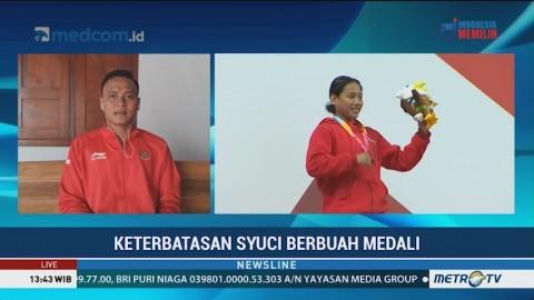Keterbatasan Syuci Berbuah Medali