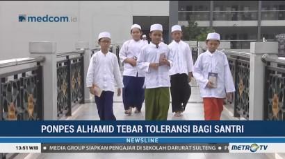 Pondok Pesantren Al Hamid Tanamkan Nilai Toleransi pada Santri