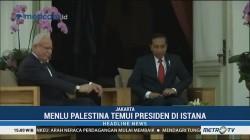 Temui Jokowi, Menlu Palestina Apresiasi Dukungan RI