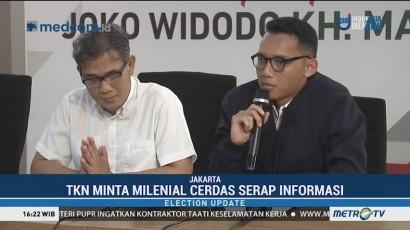 TKN Jokowi-Ma'ruf: Pemilu 2019 Milenial Harus Peka Ancaman Hoaks