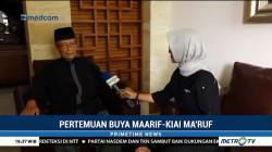 Pesan Buya Syafii untuk Ma'ruf Amin
