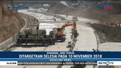 Pengerjaan Tol Semarang-Batang Dikebut