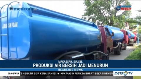 Krisis Air Bersih di Makassar, PDAM Kerahkan 11 Mobil Tangki