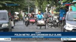 Polda Metro Minta Kebijakan Becak di Jakarta Dikaji Ulang