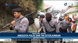 TNI-Polri Dikerahkan Padamkan Kebakaran di Gunung Merbabu