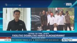 Presiden Tinjau Fasilitas Disabilitas Kompleks GBK Jakarta