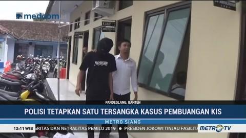 Polisi Tetapkan Tersangka Pembuangan KIS di Pandeglang