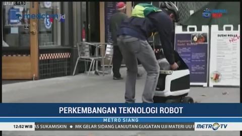 Inovasi Robot Pengantar Makanan dan Belanjaan