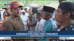 Edy Rahmayadi Kunjungi Korban Banjir Bandang Mandailing Natal