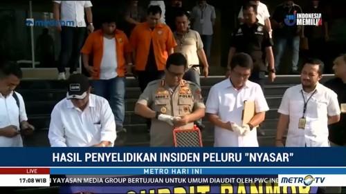 Tersangka Kasus Peluru Nyasar di Gedung DPR Dijerat UU Darurat