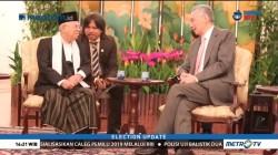 Ma'ruf Amin Bertemu PM Singapura