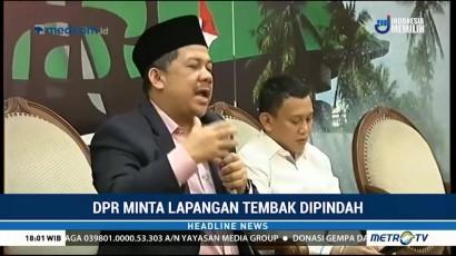 DPR Minta Lapangan Tembak Senayan Dipindah