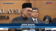 Anwar Ibrahim Dilantik Jadi Anggota Parlemen Malaysia