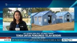 Tenda Hunian Sementara Didirikan untuk Korban Bencana Sulteng