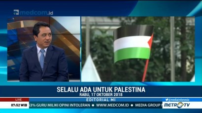 Bedah Editorial MI: Selalu Ada untuk Palestina