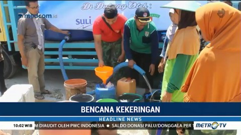 Bencana Kekeringan Landa Desa Cepokorejo Jawa Timur