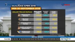 Target Pendapatan Negara 2018 Sudah Mencapai 69%