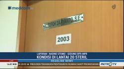 Polisi Sterilisasi TKP Peluru Nyasar di Ruang Anggota DPR