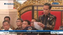 Jokowi Minta Surplus Neraca Perdagangan Dipertahankan