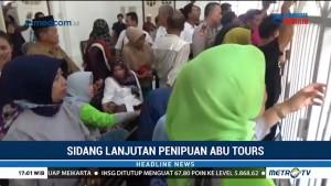 Diwarnai Protes, Sidang Abu Tours Diskors Berkali-Kali