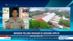 Kasus Peluru Nyasar, Polisi akan Sisir Gedung DPR