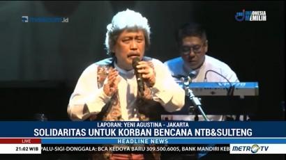 Bimbo Tampil di Acara Pentas Seni untuk NTB dan Sulteng