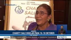 Menteri Susi Gelar Charity Sale untuk Korban Bencana Sulteng
