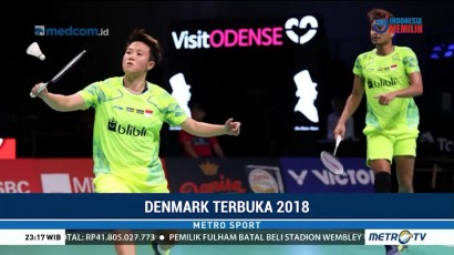 Markus/Kevin dan Owi/Butet Lolos ke Babak Kedua Denmark Open