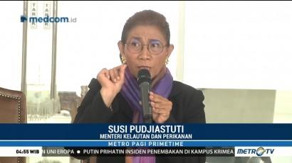 Menteri Susi Minta Sandiaga Pelajari UU Perikanan