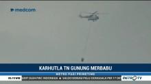 Operasi <i>Water Bombing</i> di Gunung Merbabu Terkendala Cuaca