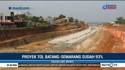 Progres Pembangunan Tol Batang-Semarang Capai 93%